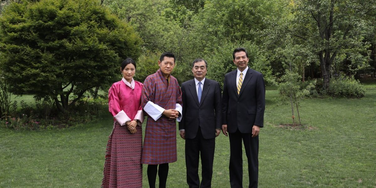 Bhoutan/Chine : la BRI au menu d'une rencontre avec le Roi