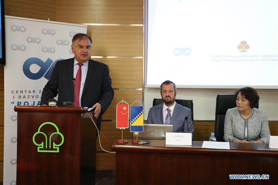 La Bosnie-Herzégovine voit des opportunités dans l'initiative Ceinture et la Route