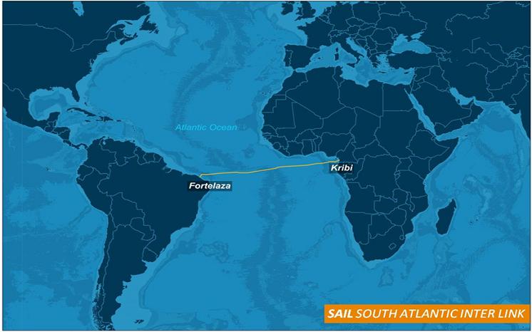 Huawei : Un réseau de fibre optique sous-marin connecte l'Afrique à l'Amérique du Sud.