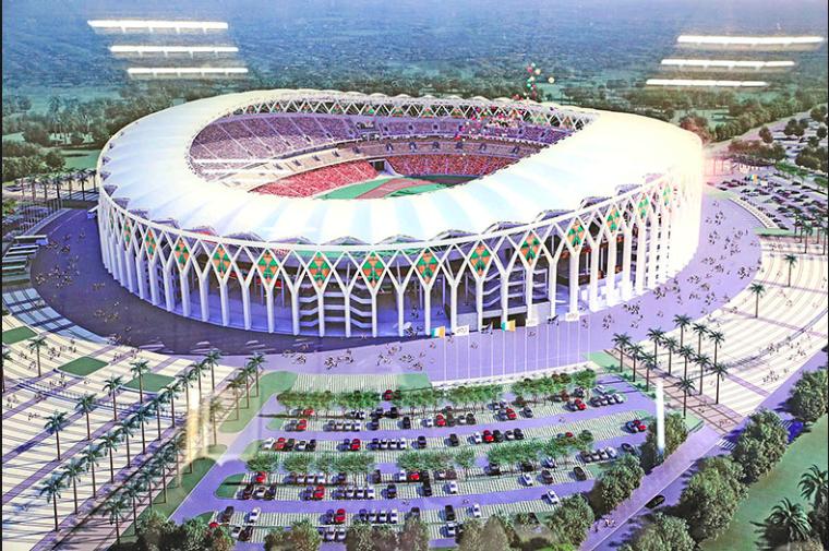 #3 Stade d'Ebimpé : La Chine et sa contribution aux infrastructures sportives en Cote d'ivoire.