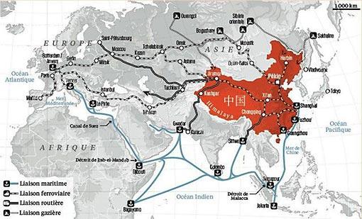Le désenclavement de la Chine centrale et occidentale comme levier de croissance.