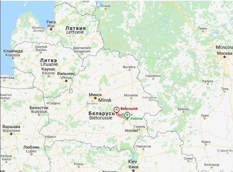 #6 Chine-Biélorussie: reconstruction de l'autoroute M5 (tronçon Bobrouïsk- Jlobine)