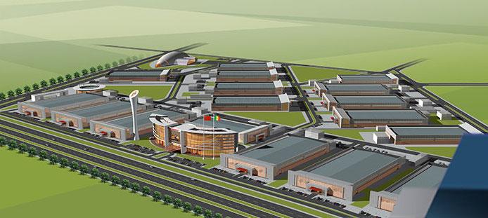 Sénégal : Macky Sall inaugure une plateforme industrielle, construite par une société chinoise.
