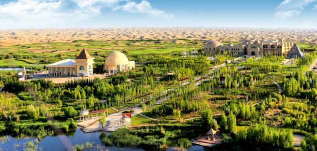 Une éco-société chinoise, Elion Resources Group, souhaite verdir la route de la soie.