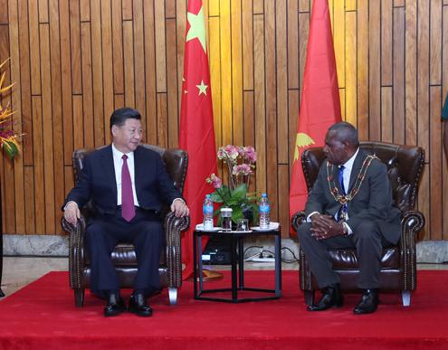 La Chine et la Papouasie-Nouvelle-Guinée vont poursuivre leur coopération