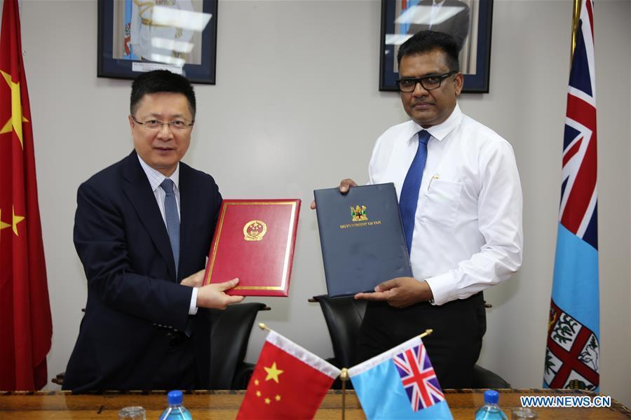 Chine et Fidji : Mémorandum d'entente sur la BRI