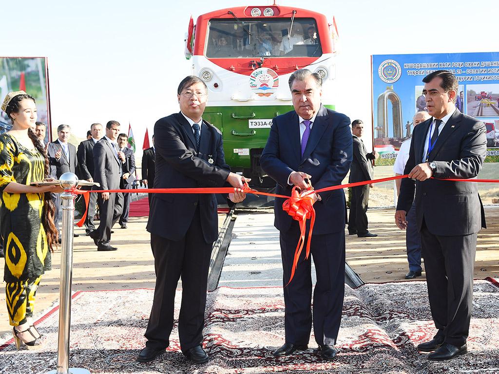 #5 Chine-Tadjikistan : construction de la voie ferrée Vahdat-Yavan