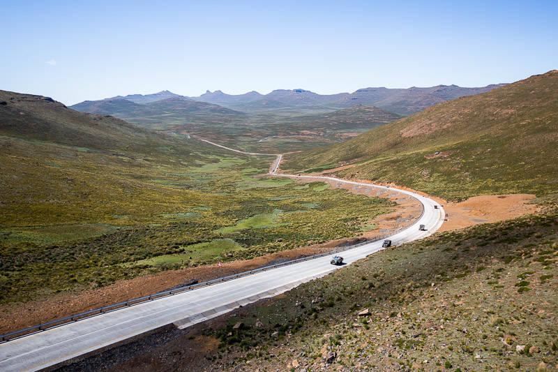 Le Lesotho lance un projet routier financé par la Chine