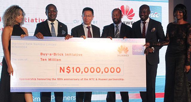 Huawei investit dans la construction de maisons à faible loyer en Namibie