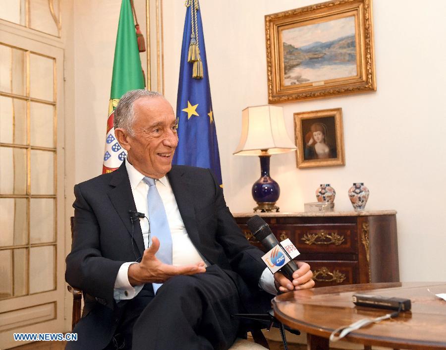 Le président portugais qualifie les relations avec la Chine «d'exceptionnelles»