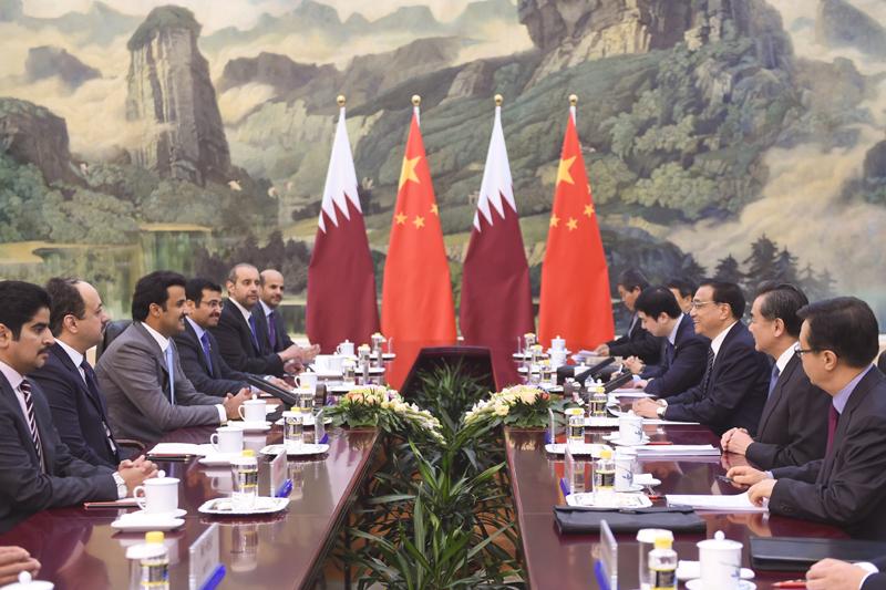 Une visite prometteuse pour l'émir du Qatar en Chine