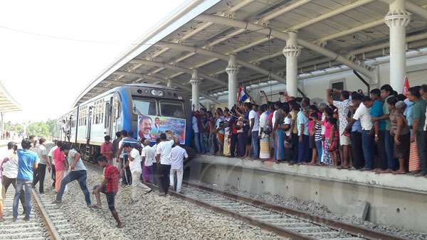 Sri Lanka : Premier test sur la ligne Matara-Beliatta financée par la Chine ( Vidéo)