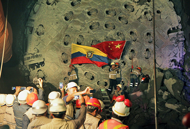 #10 Chine-Equateur : Projet hydroélectrique Coca Codo Sinclair