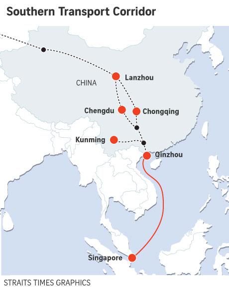 Reportage : La place du Guangxi dans le corridor vers Singapour