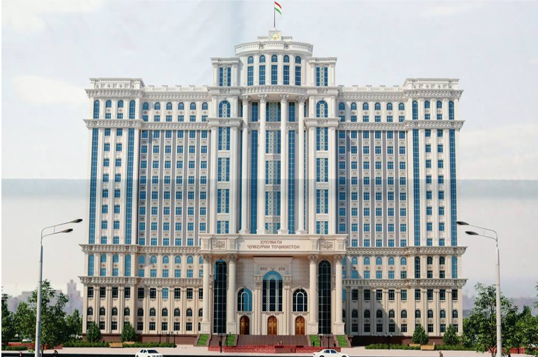 #12 La Chine lance la construction des nouveaux bâtiments parlementaire et gouvernemental au Tadjikistan