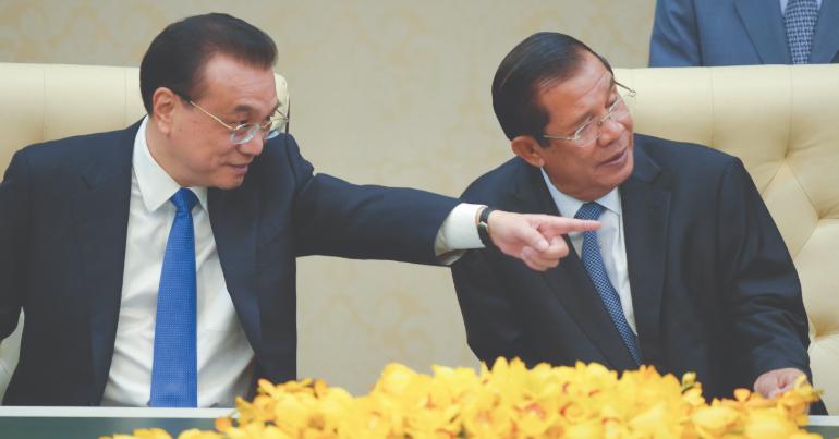 Comment le Cambodge gère t-il sa relation avec la Chine ?