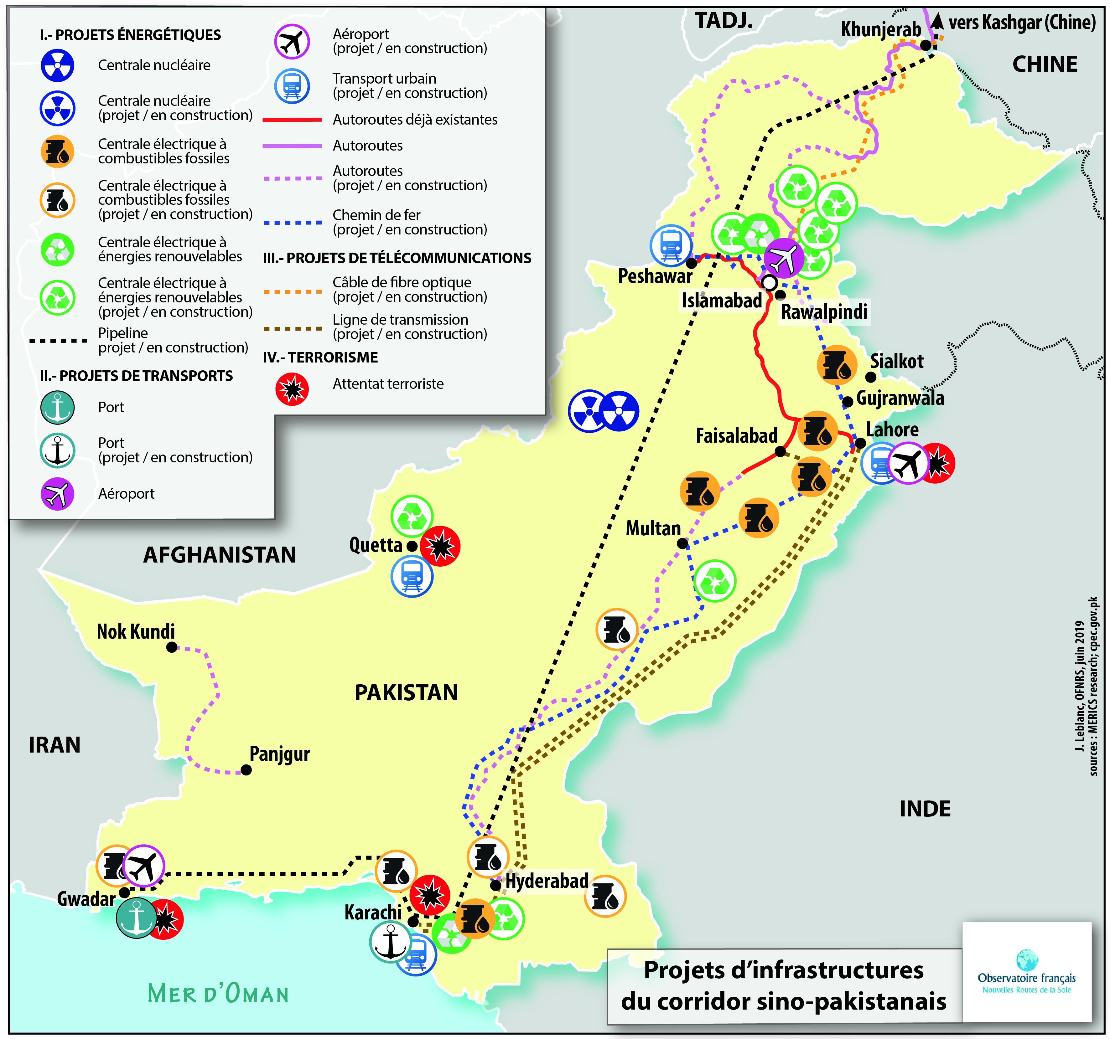 Le corridor sino-pakistanais face à l'enjeu sécuritaire