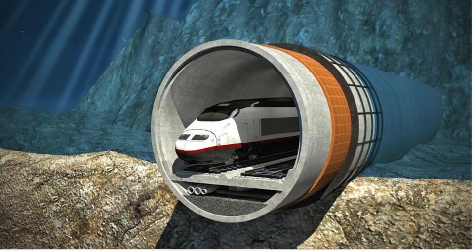 #15 UE-Chine : Construction d'un tunnel ferroviaire sous-marin le plus long au monde avec ou sans l'aide de la Chine ?