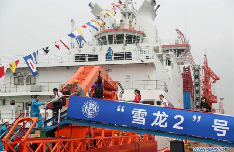 Xuelong-2 : La Chine et le cercle polaire