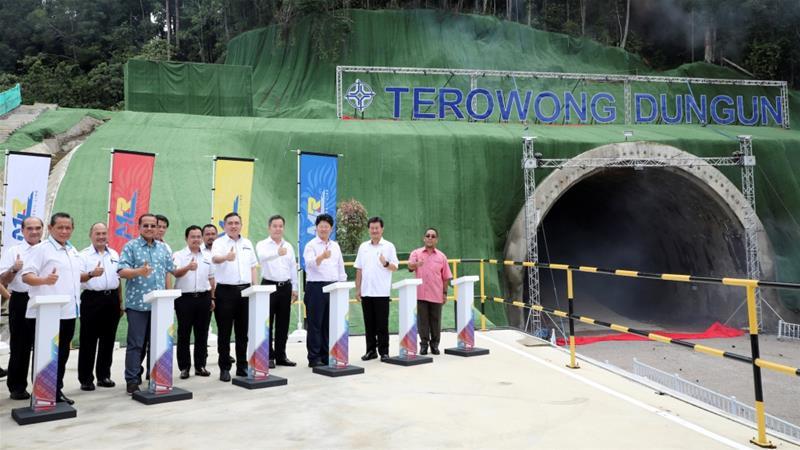 Malaisie : Reprise des travaux d'un projet phare des Nouvelles Routes de la Soie