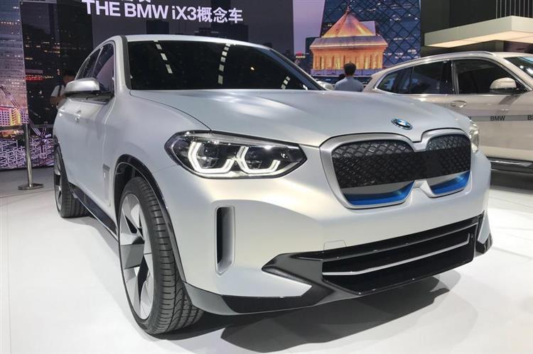 Le iX3 100% électrique de BMW bientôt construit en Chine