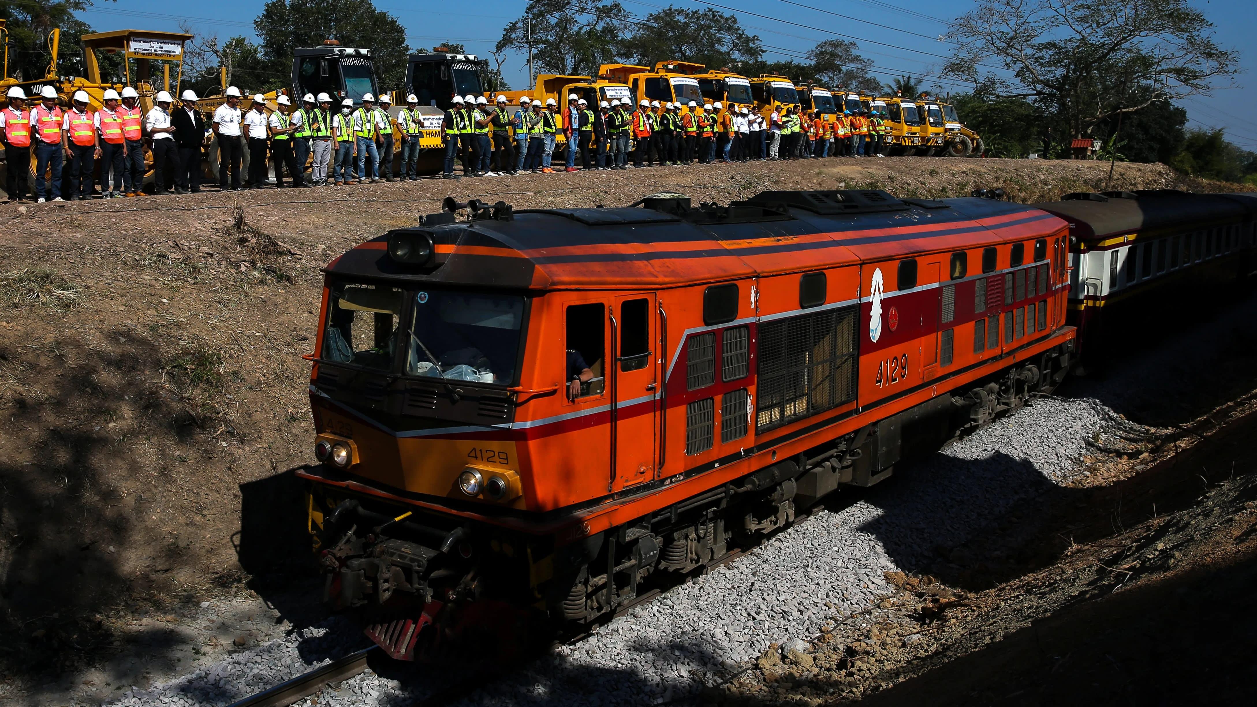 Coup d'arrêt pour la ligne Bangkok-Nong Khai