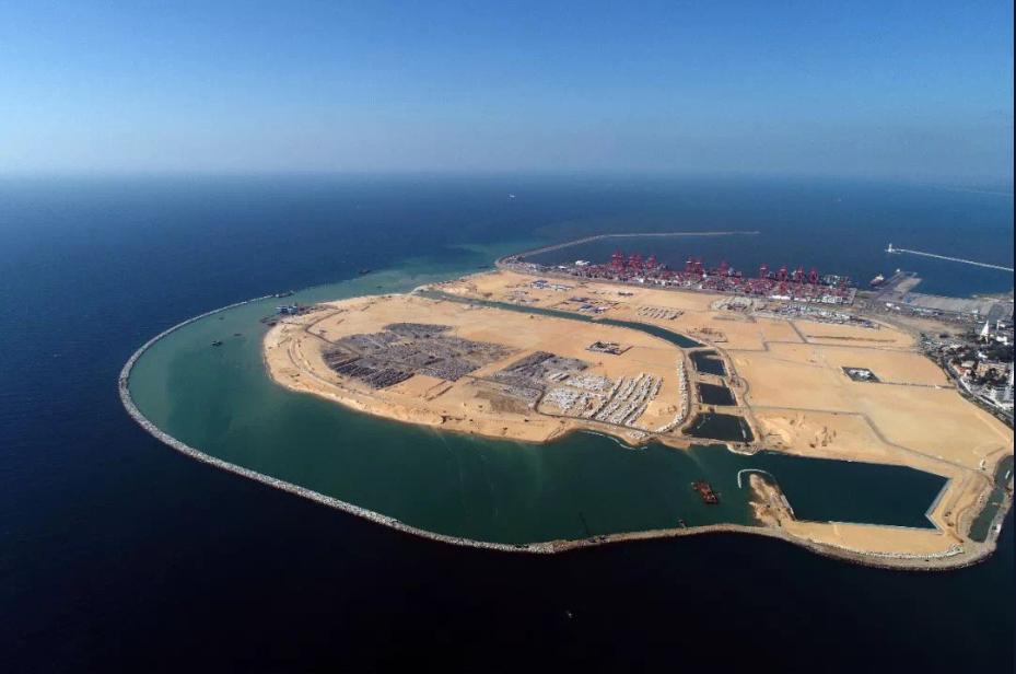 #18 Chine-Sri Lanka : construction d'une ville portuaire