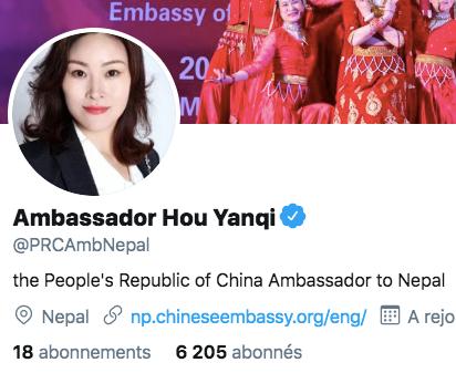 Entretien avec Hou Yanqi, Ambassadeur de la Chine au Népal