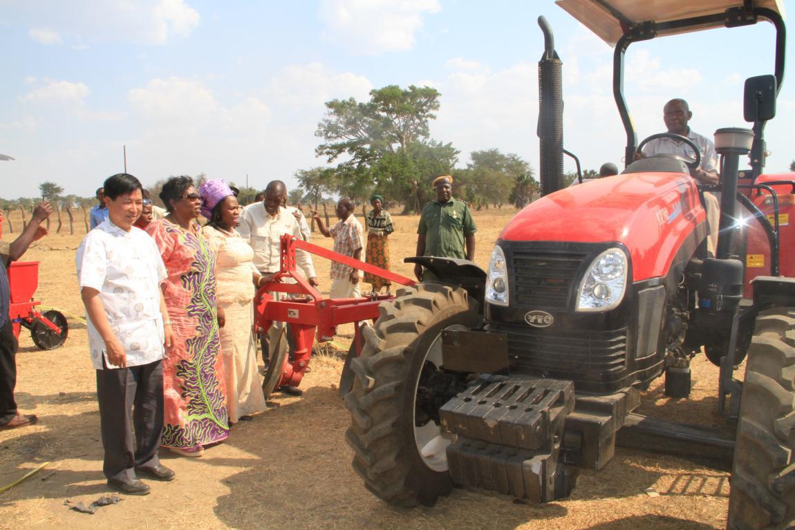 La Zambie utilisera de la technologie agricole chinoise