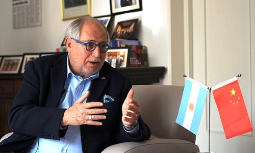 Entretien avec Diego Ramiro Guelar-Ambassadeur de Argentin en Chine