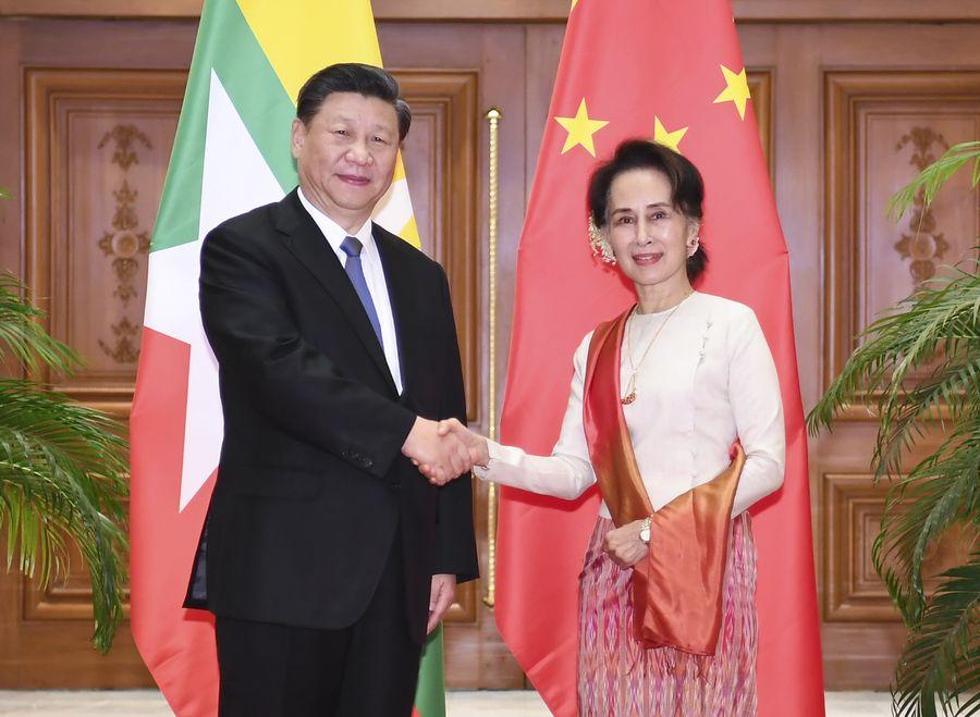 Xi en Birmanie pour relancer les Routes de la Soie